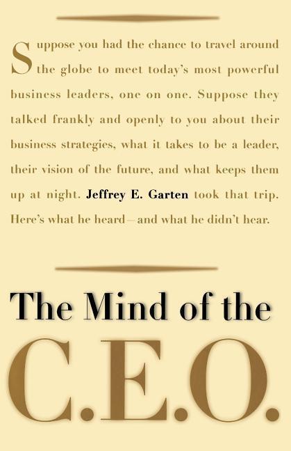 The Mind of the CEO als Taschenbuch