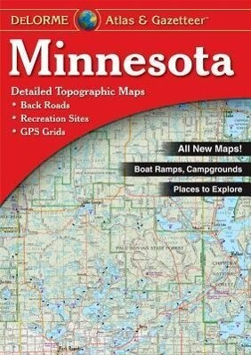 Minnesota - Delorme als Taschenbuch