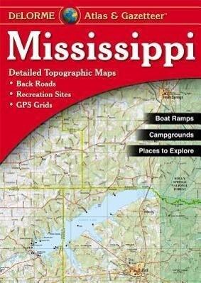 Mississippi - Delorme als Taschenbuch