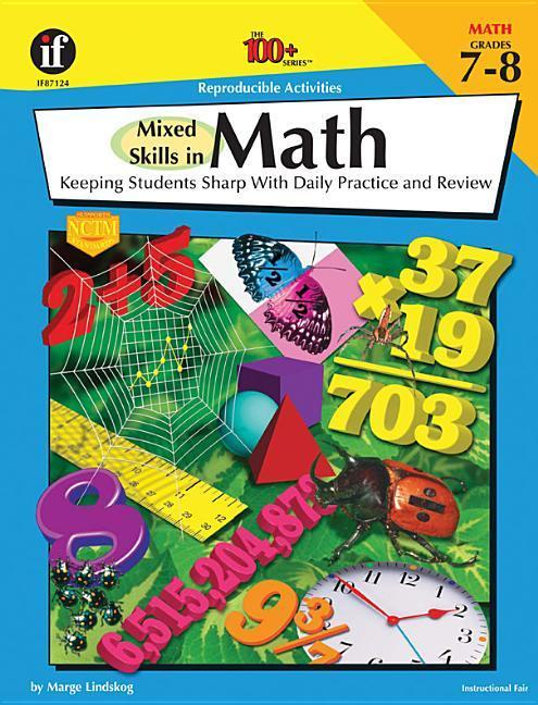 Mixed Skills in Math, Grades 7 - 8: Keeping Students Sharp with Daily Practice and Review als Taschenbuch