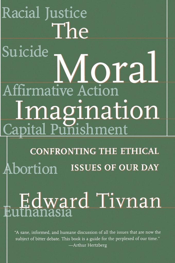 The Moral Imagination als Taschenbuch