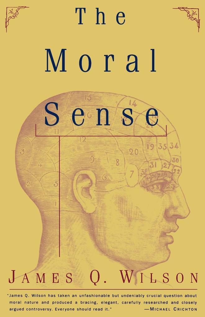 The Moral Sense als Taschenbuch