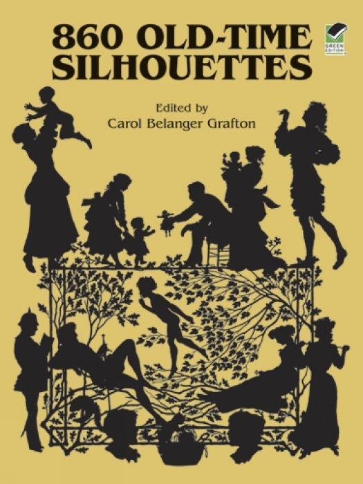 860 Old-Time Silhouettes als Taschenbuch