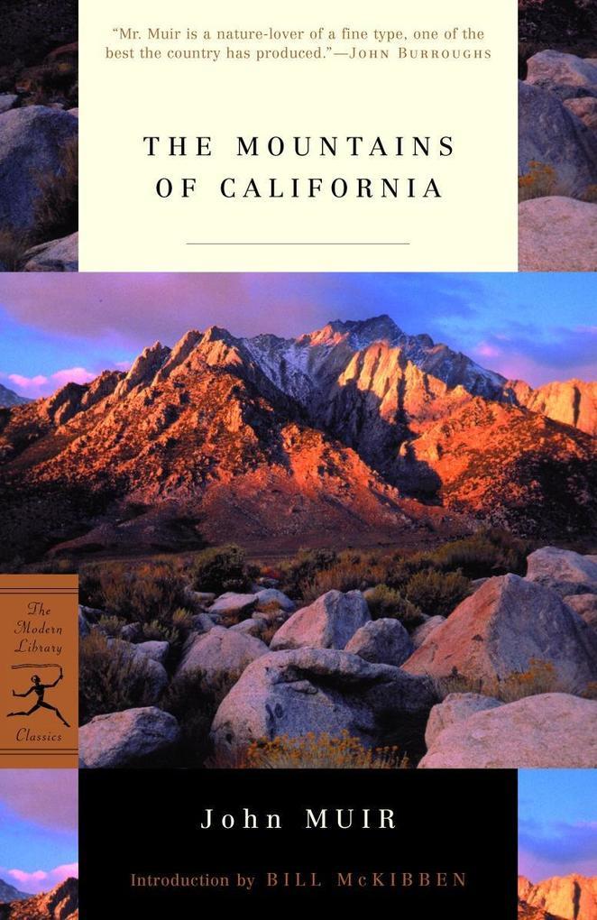 The Mountains of California als Taschenbuch