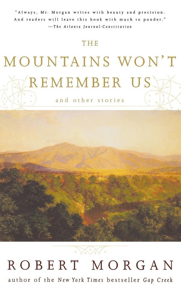 The Mountains Won't Remember Us als Taschenbuch