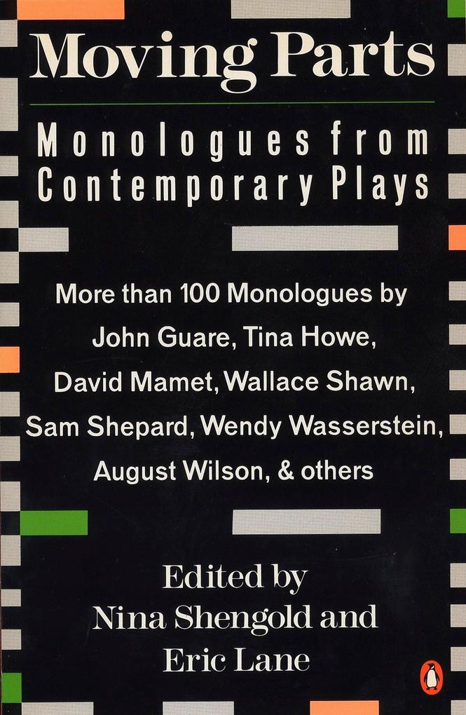 Moving Parts: Monologues from Contemporary Plays als Taschenbuch