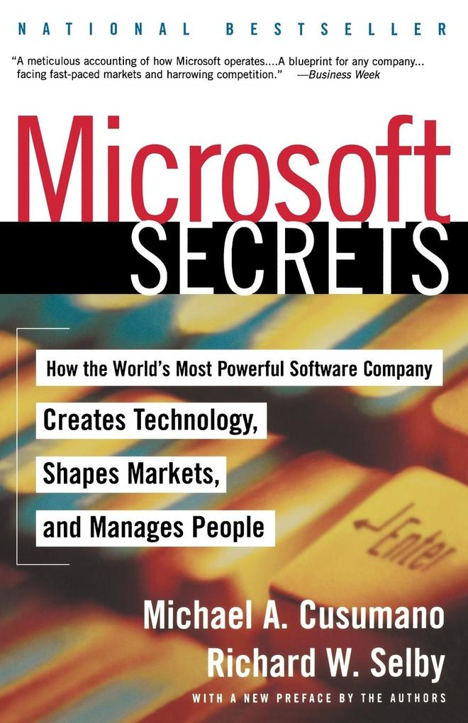Microsoft Secrets als Taschenbuch