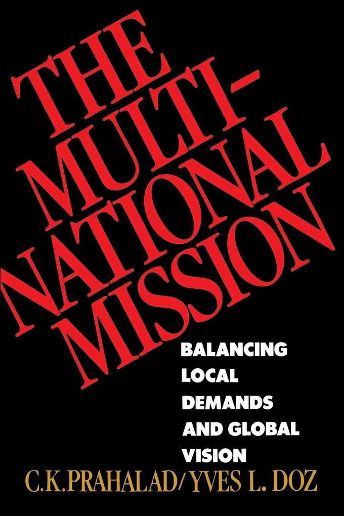 The Multinational Mission als Taschenbuch
