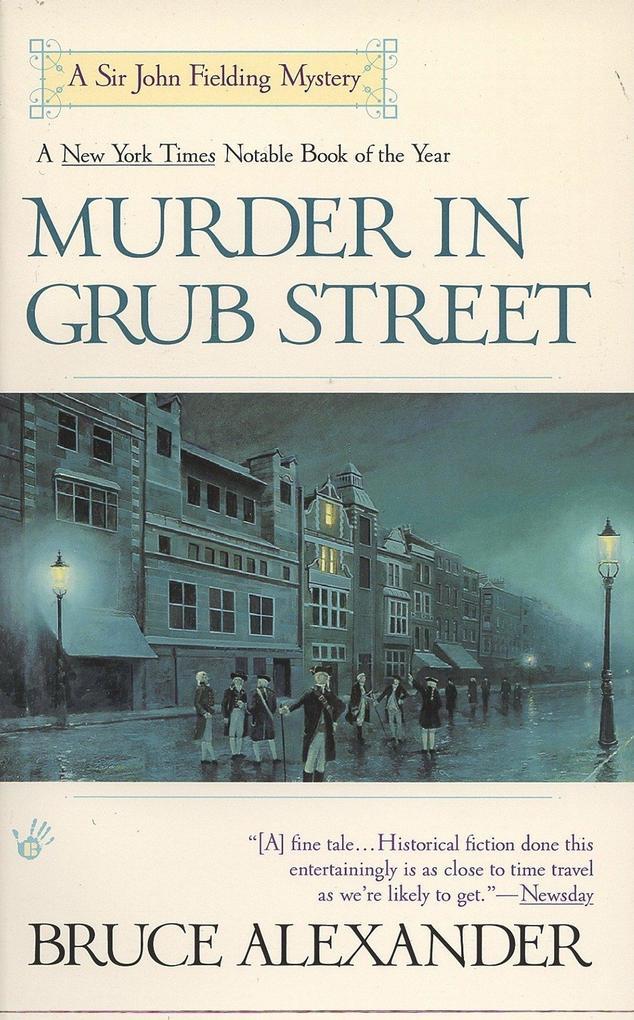 Murder in Grub Street als Taschenbuch