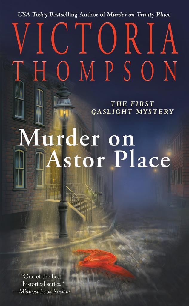 Murder on Astor Place: A Gaslight Mystery als Taschenbuch