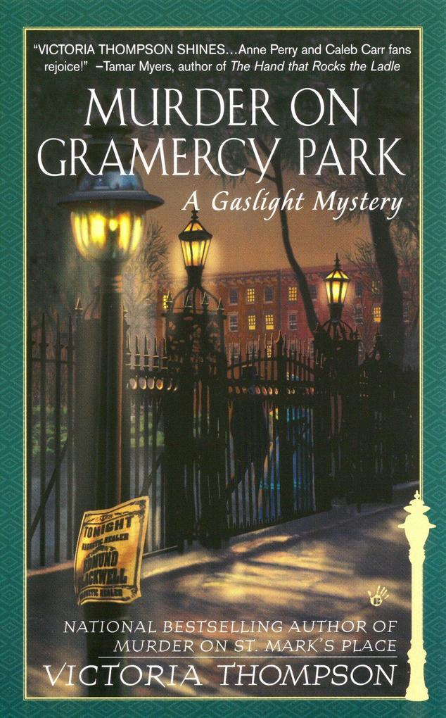 Murder on Gramercy Park: A Gaslight Mystery als Taschenbuch