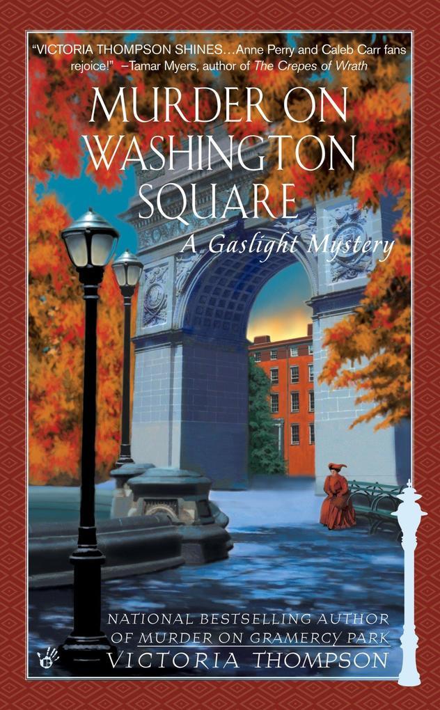 Murder on Washington Square: A Gaslight Mystery als Taschenbuch