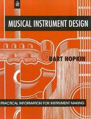 Musical Instrument Design als Taschenbuch
