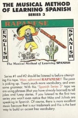 Rapanese Spanish als Hörbuch