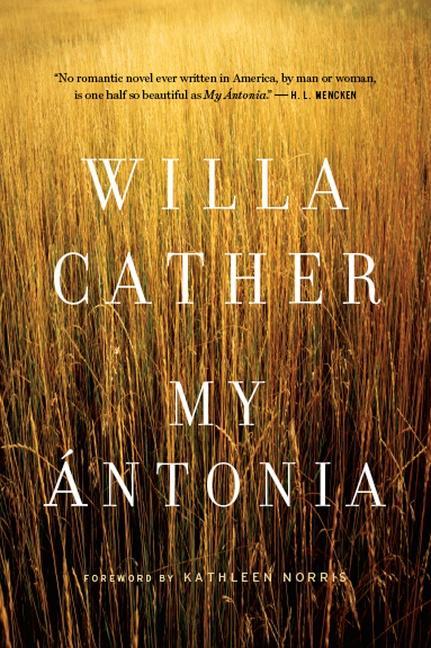 My Antonia als Buch