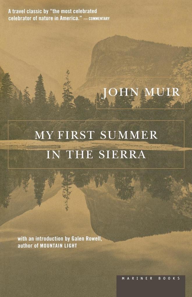 My First Summer in the Sierra als Taschenbuch