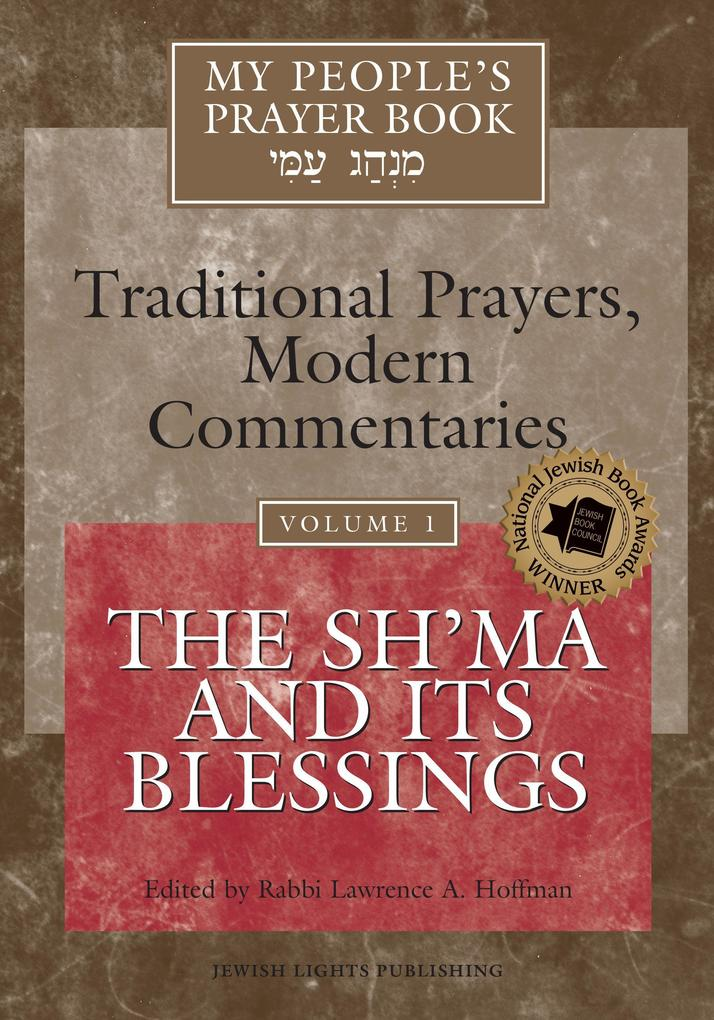 My People's Prayer Book Vol 1: The Sh'ma and Its Blessings als Buch