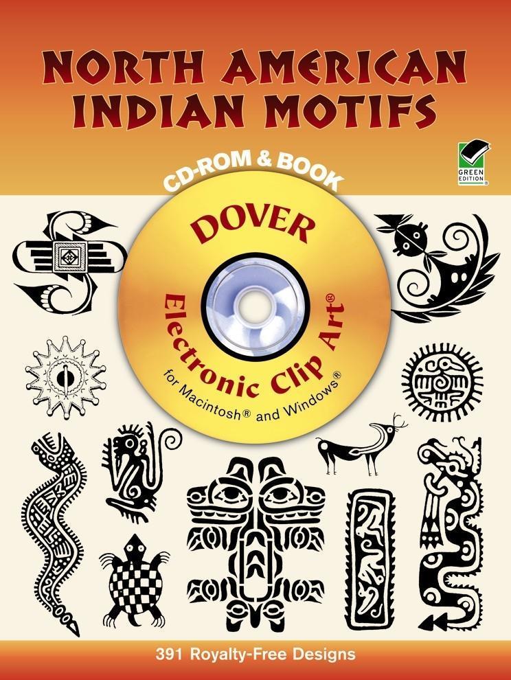North American Indian Motifs CD-ROM and Book als Taschenbuch