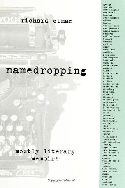 Namedropping: Mostly Literary Memoirs als Taschenbuch