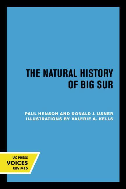 The Natural History of Big Sur als Taschenbuch