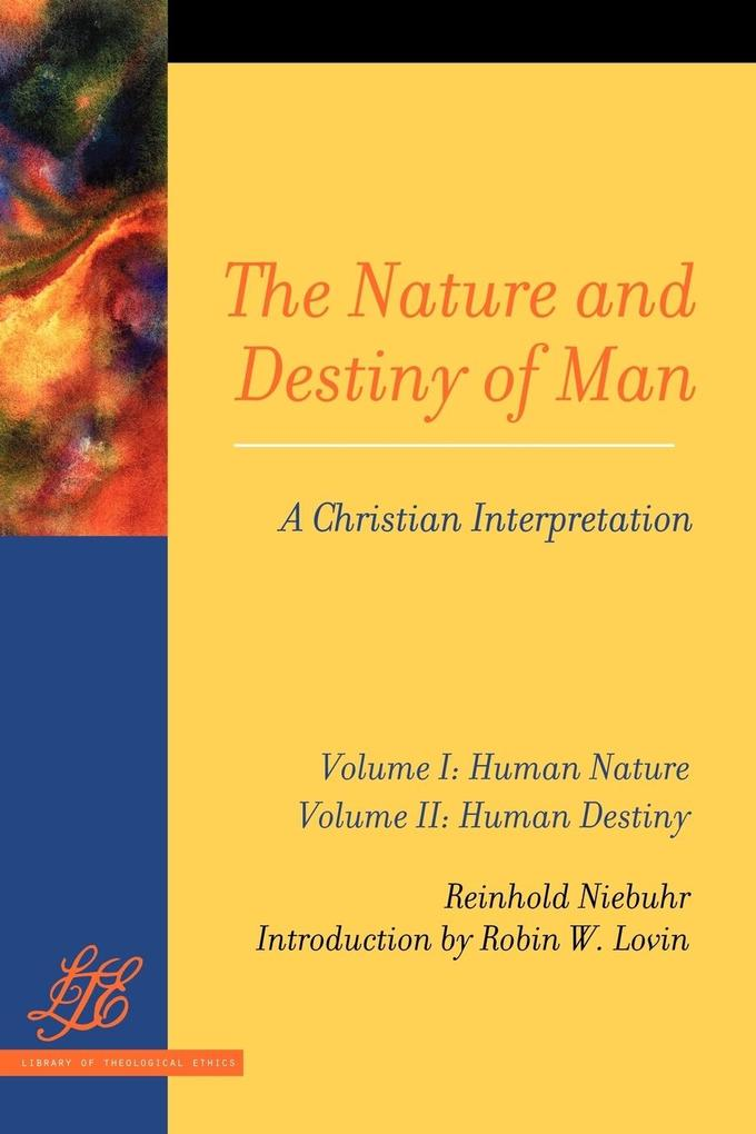 The Nature and Destiny Of Man Vol 1 & 2 als Taschenbuch