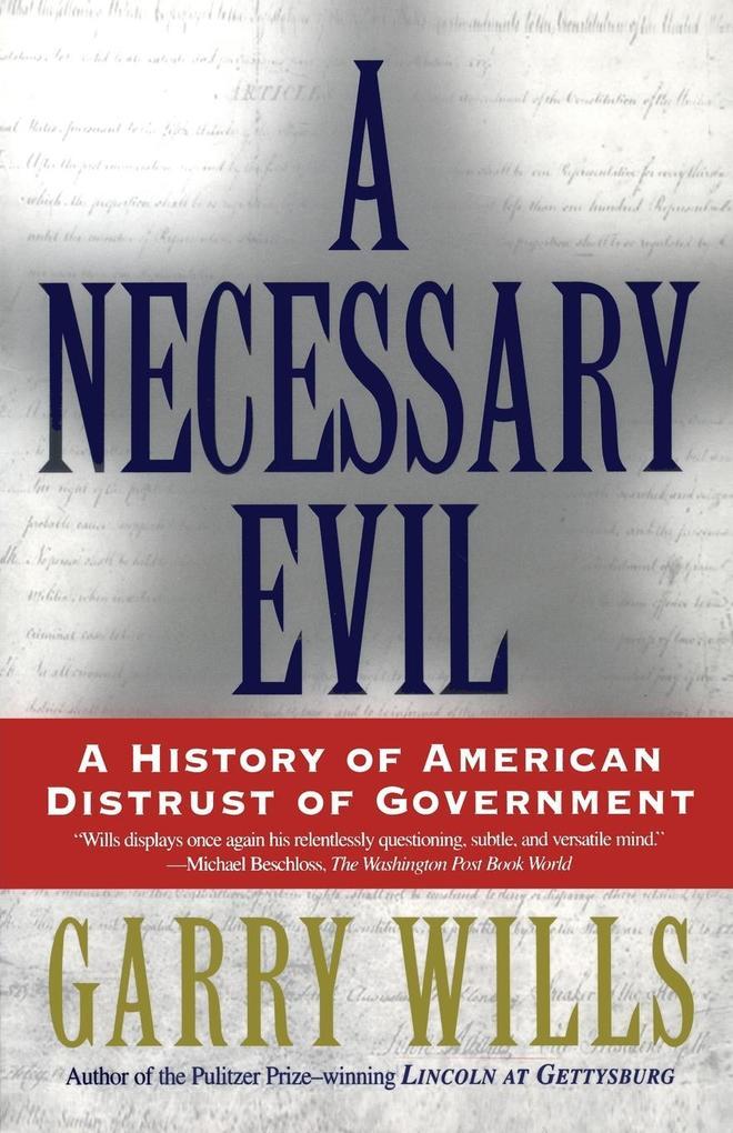 A Necessary Evil als Taschenbuch