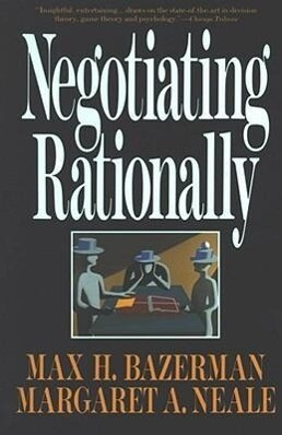 Negotiating Rationally als Taschenbuch