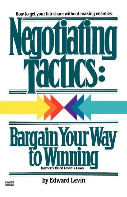 Negotiating Tactics als Taschenbuch