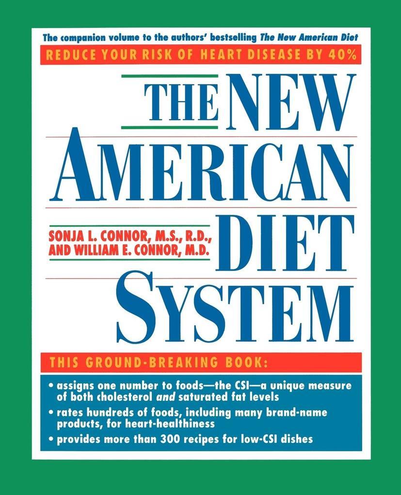 The New American Diet System als Taschenbuch