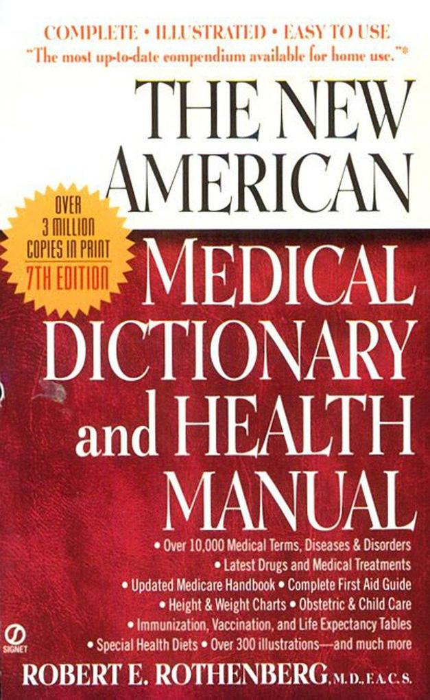The New American Medical Dictionary and Health Manual als Taschenbuch