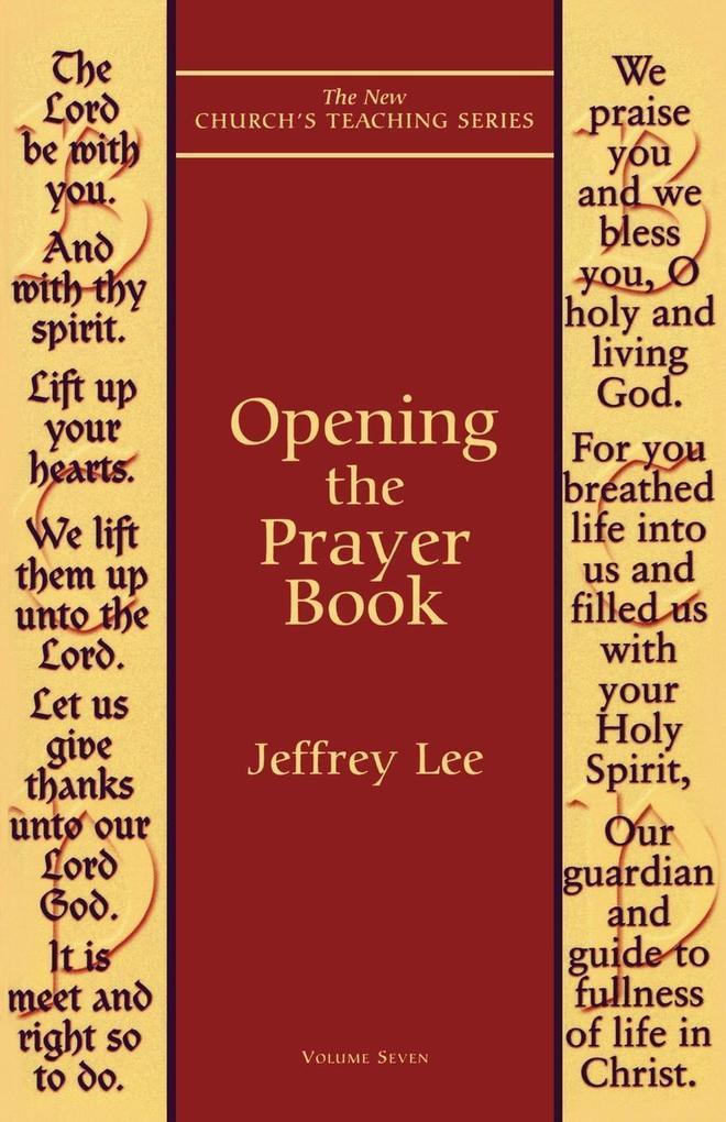 Opening the Prayer Book als Taschenbuch