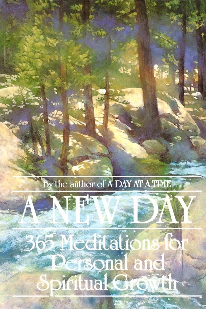 A New Day: 365 Meditations for Personal and Spiritual Growth als Taschenbuch