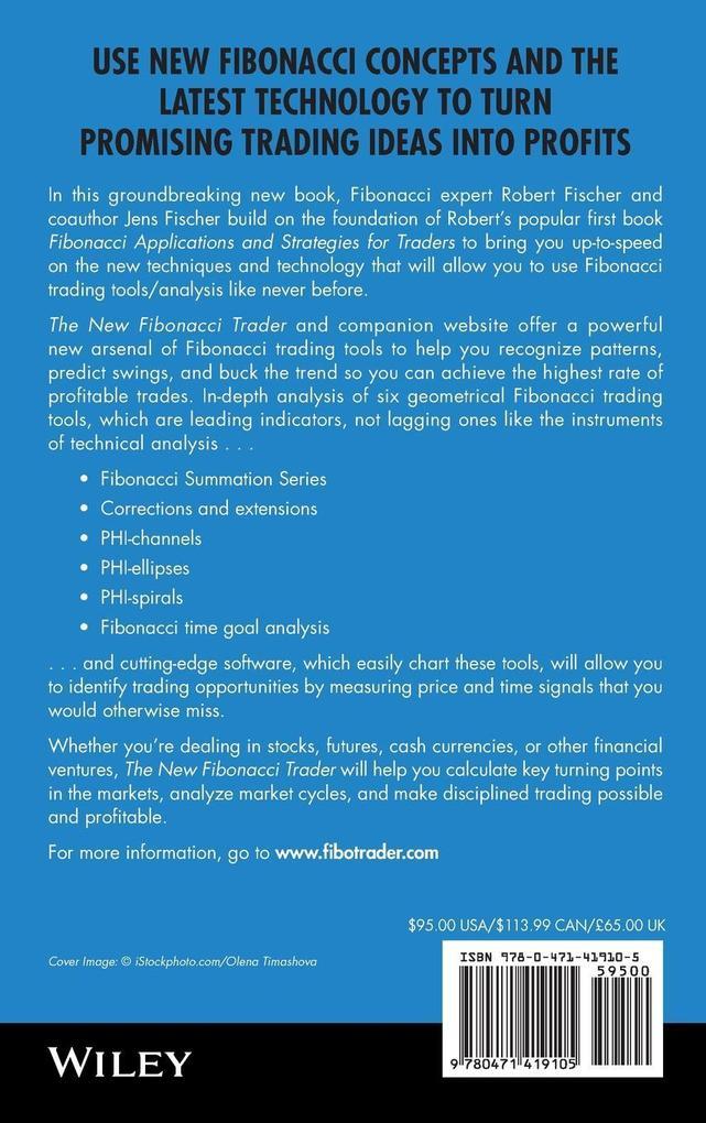 The New Fibonacci Trader: Tools and Strategies for Trading Success als Buch