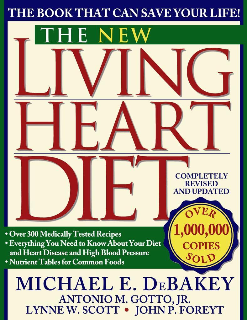 New Living Heart Diet als Taschenbuch