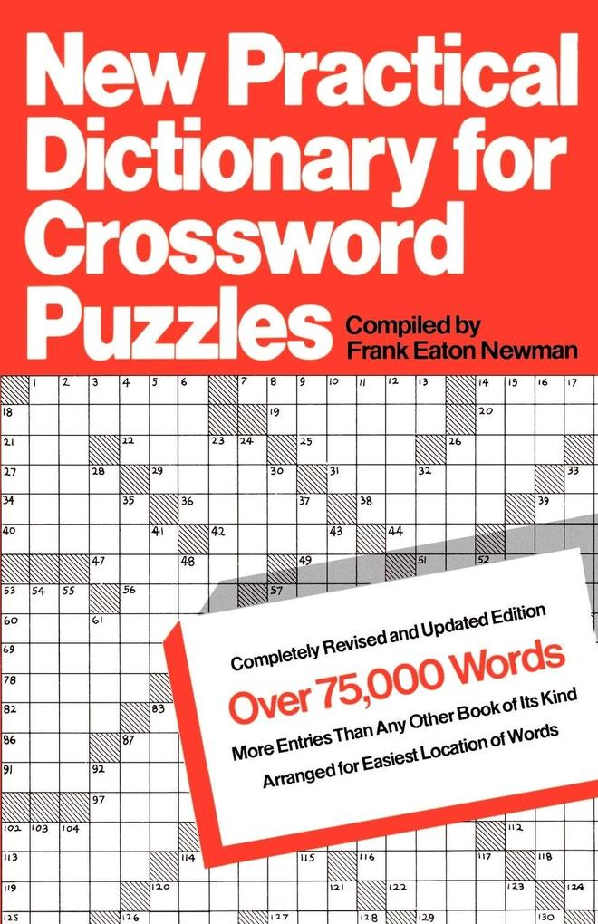 New Practical Dictionary for Crossword Puzzles als Taschenbuch