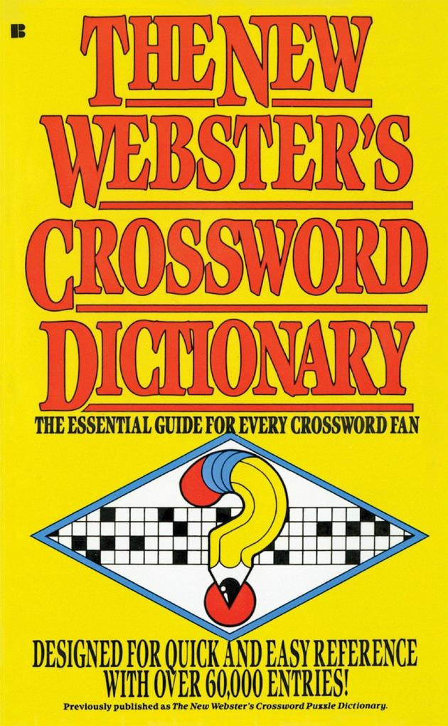 The New Webster's Crossword Dictionary als Taschenbuch