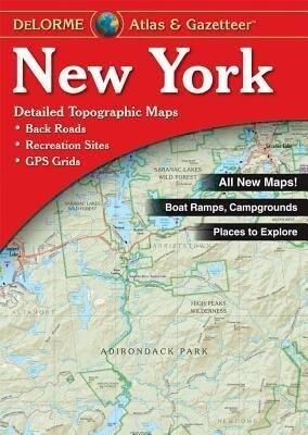 New York Atlas & Gazetteer als Taschenbuch