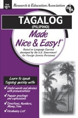 Tagalog (Pilipino) Made Nice & Easy (Rea) als Taschenbuch