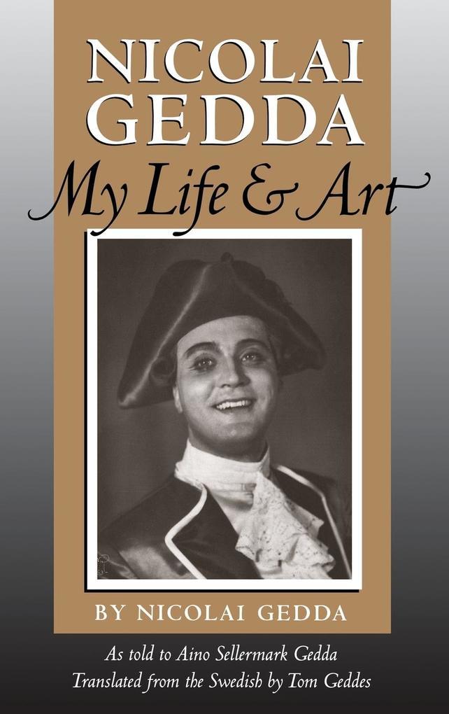 Nicolai Gedda als Buch