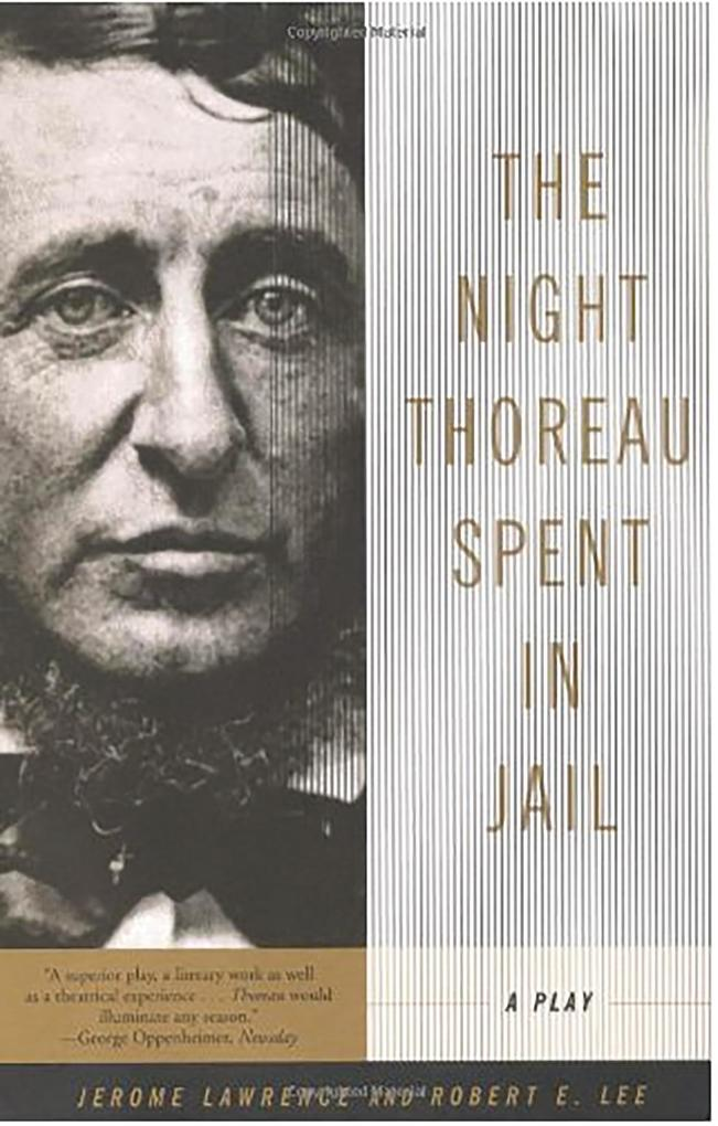 The Night Thoreau Spent in Jail: A Play als Taschenbuch