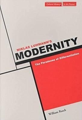 Niklas Luhmann's Modernity als Taschenbuch