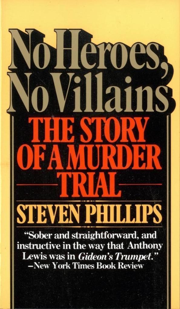 No Heroes, No Villains als Taschenbuch
