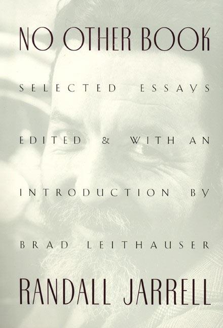 No Other Book: Selected Essays als Taschenbuch