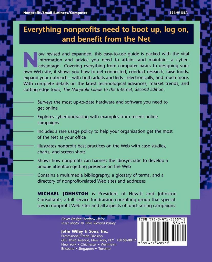 The Nonprofit Guide to the Internet als Taschenbuch