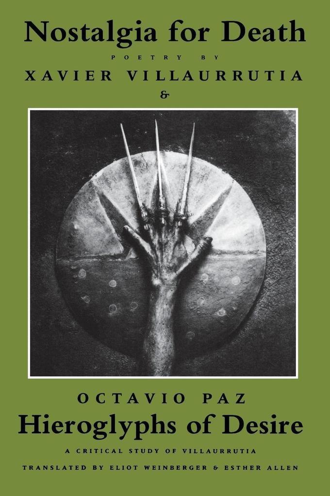 Nostalgia for Death & Hieroglyphs of Desire als Taschenbuch