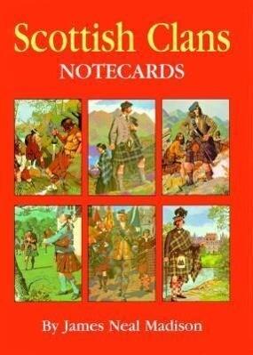 Scottish Clans Notecards [With 8 Envelopes and Folder] als Taschenbuch