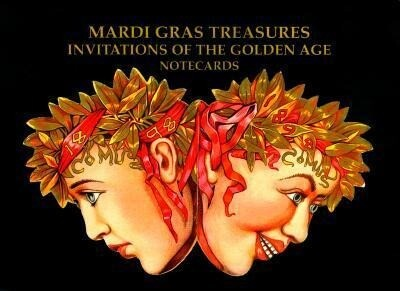 Mardi Gras Treasures: Invitations of the Golden Age Notecards als Buch