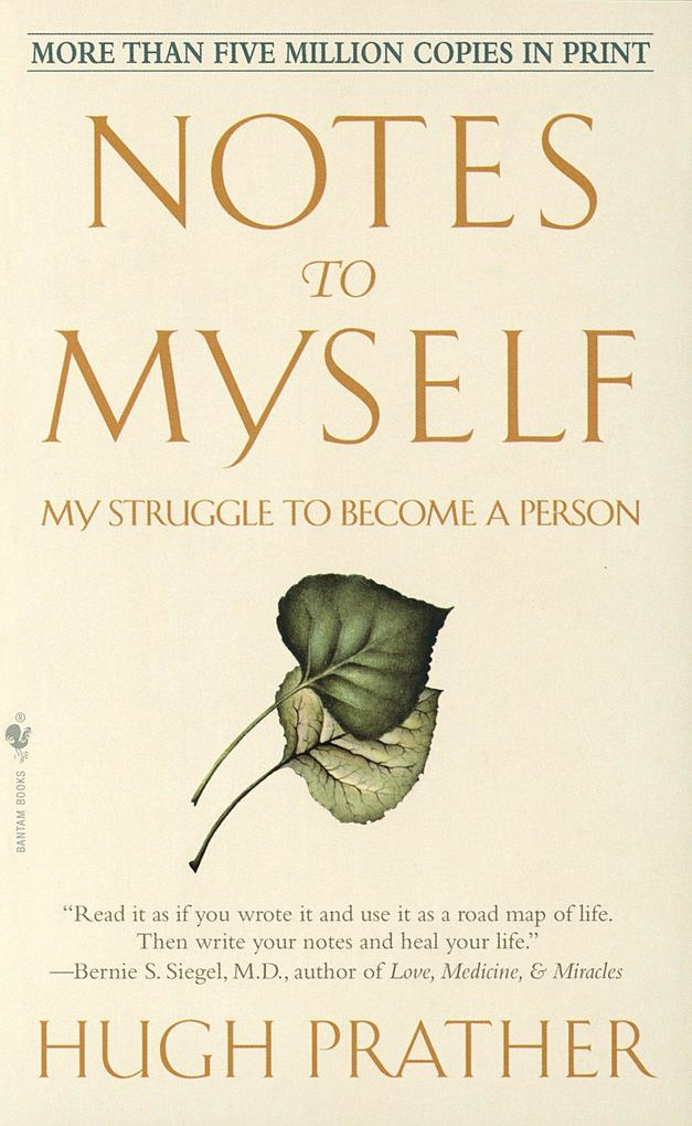 Notes to Myself: My Struggle to Become a Person als Taschenbuch