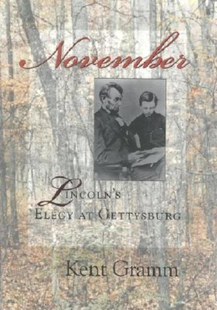 November: Lincoln's Elegy at Gettysburg als Buch