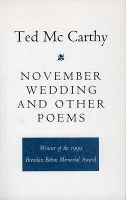 November Wedding and Other Poems als Taschenbuch